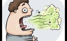 curly bad breath